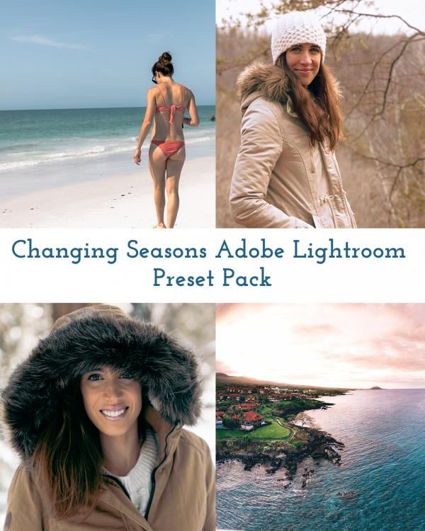 Changing Seasons Passports to Life Adobe Lightroom preset pack